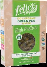 100% Organic Green Pea Pasta product image.