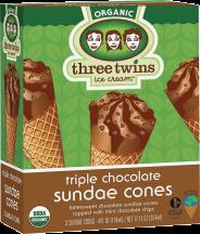 Organic Triple Chocolate Sundae product image.