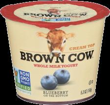 Whole Milk Cream Top Yogurt product image.