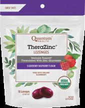 Organic TheraZinc Lozenges product image.
