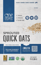 Organic Quick Oats product image.
