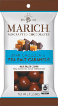 Dark Chocolate Sea Salt Caramels product image.