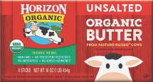 Organic Butter 4 Sticks product image.