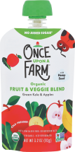 Organic Baby Food Pouch product image.