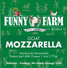 A delicious creamy mozzerella from goat milk! product image.