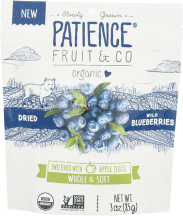 Organic Dried Whole Blueberries product image.