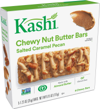 Chewy Nut Butter Bars product image.