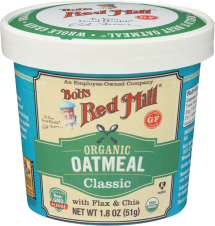 Organic Oatmeal Cup product image.