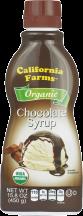 Organic Chocolate Syrup product image.
