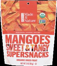 Organic Dried Mangoes product image.