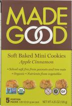 Organic SoftBaked Mini Cookies product image.