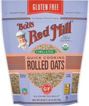 Organic Rolled Oats product image.