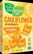 Cauliflower Crackers product image.