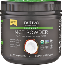 Organic MCT Powder product image.