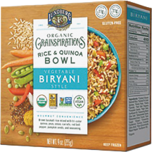 Organic Grainspirations Rice & Quinoa Bowl product image.