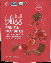 100% Organic Fruit & Nut Bites product image.