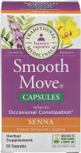 Smooth Move Laxative Capsules product image.