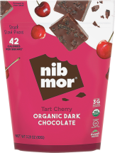 Organic Dark Chocolate Pieces product image.