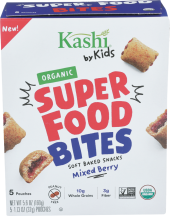 Organic Kids Super Food Bites product image.