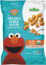 Organic Baked Corn Puffs product image.