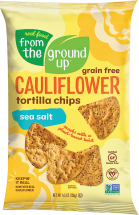 Cauliflower Tortilla Chips product image.