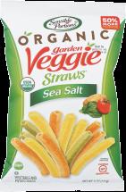 Organic Garden Veggie Straws product image.