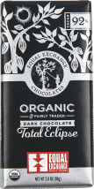 Organic Dark Chocolate Bar product image.