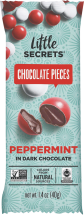 Dark Chocolate Peppermint Candies product image.