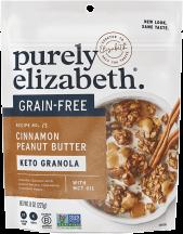 Cinnamon Peanut Butter Grain Free Granola product image.