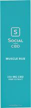 CBD Hemp Muscle Rub product image.