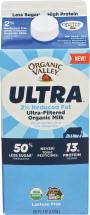 Organic Ultra-Filtered Milk product image.