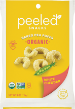 Organic Baked Pea Puffs product image.