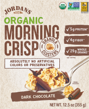Organic Morning Crisp Granola Clusters product image.