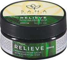 Relieve Hemp Salve product image.