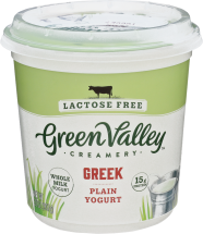 Lactose-FreeGreek Yogurt product image.