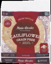 Cauliflower Tortillas product image.