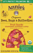 Fruit Snack ,OG2,Tropical Berry, Bees, Bugs, & Butterflies product image.