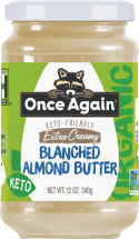 Organic Almond Butter product image.