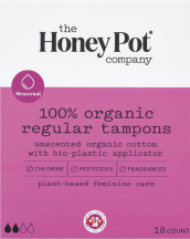 Organic Cotton Tampons product image.