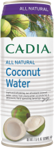 CADIA All Natural Coconut Water with Pulp or Pulp Free 17.5 OZ reg. $1.79 product image.
