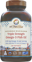 Triple Strength Omega-3 Fish Oil product image.