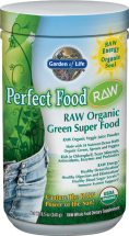 40 nutrient dense greens, sprouts, fruits & veggies, plus live probiotics & enzymes. product image.