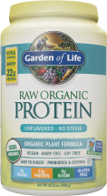 Raw Organic Protein product image.