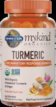 mykind Organics Turmeric Gummy product image.