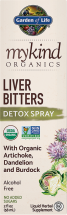 mykind Organics Liver Bitters product image.