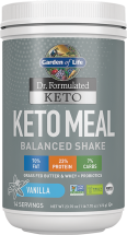 Dr. Formulated Keto Meal product image.