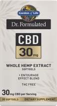 Dr. Formulated CBD 30 mg product image.