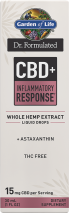 Dr. Formulated CBD+ Inflammation Response Liquid product image.