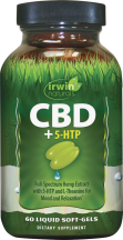 CBD + 5-HTP product image.