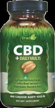 CBD + DAILY MULTI product image.